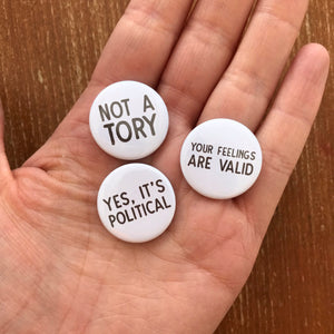 25mm politics badges
