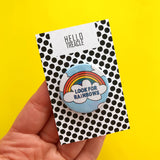 Look For Rainbows badge