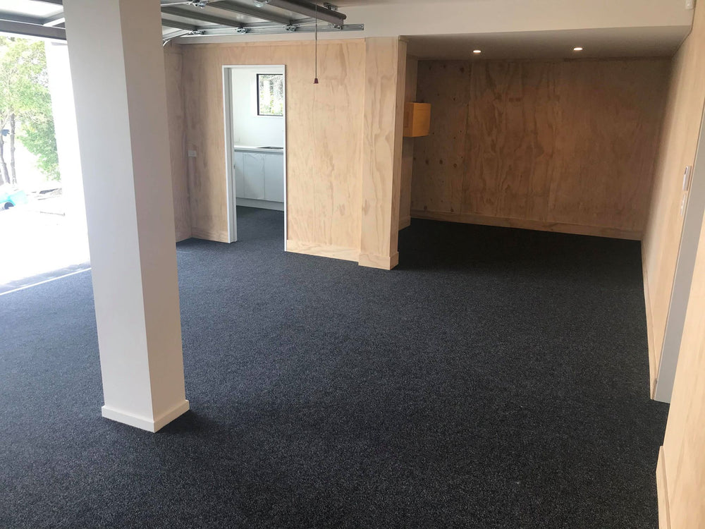 ply walls with carpet