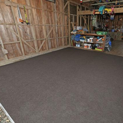 light brown garage carpet