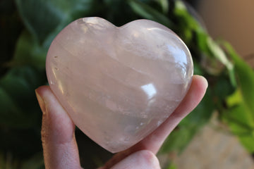 Rose quartz heart 4