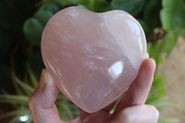 Rose quartz heart 6
