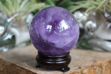 Amethyst sphere 4, new