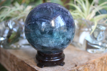 Fluorite sphere 3, new