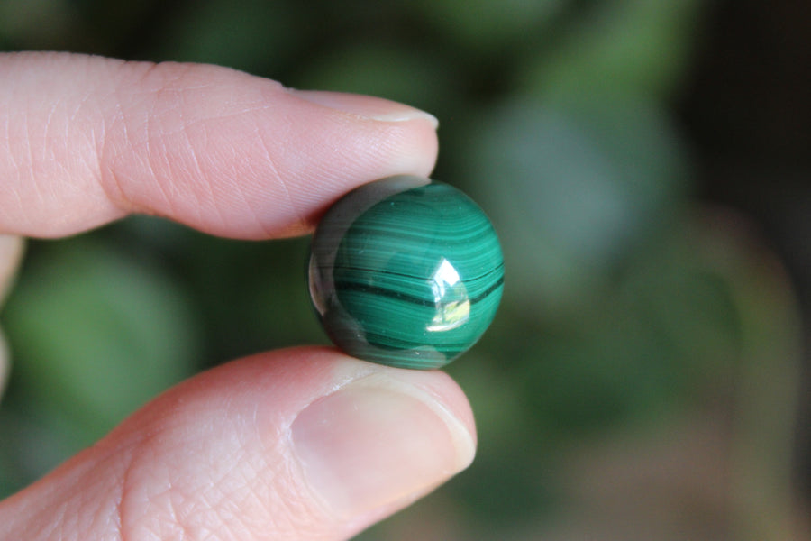 Tiny malachite sphere 3