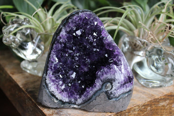 Amethyst cut base 8