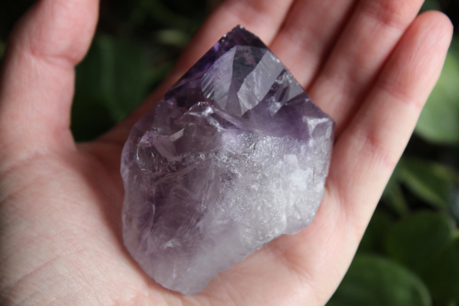 Natural/raw amethyst point 4