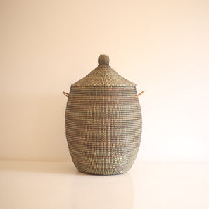 African Basket Black EGG (Medium)