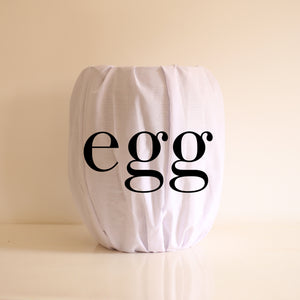 African Basket White EGG (Large)