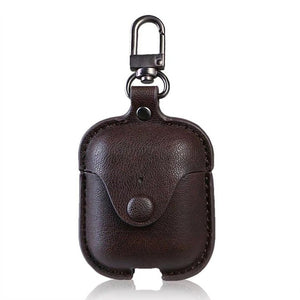 Airpod Leather Case - Threaded Pear