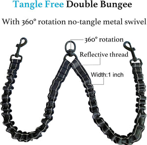 Dual Bungee Leash Add-On - Threaded Pear