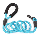 5FT Rope Leash w/ Comfort Handle - Threaded Pear