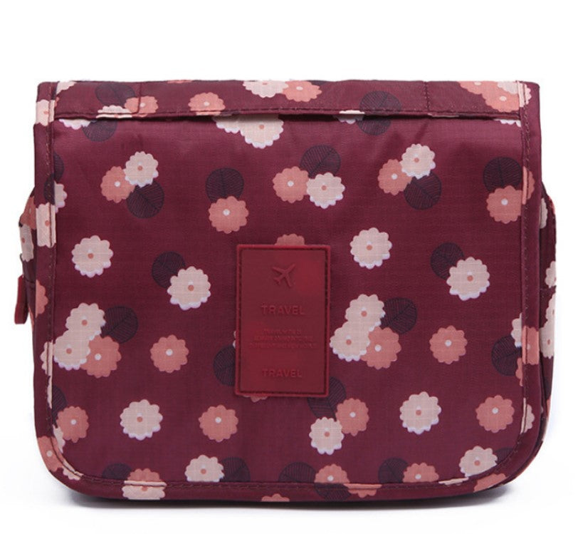 Hangable Cosmetic Bag - Threaded Pear