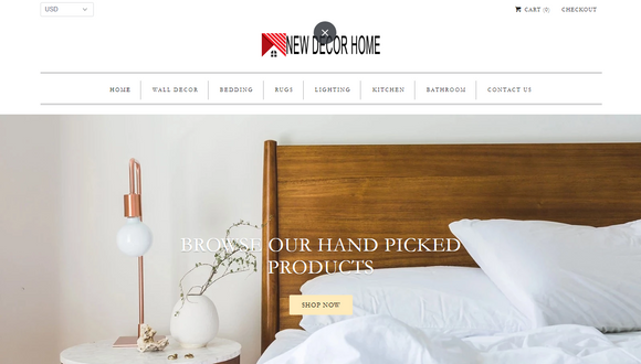 Home Decor Website