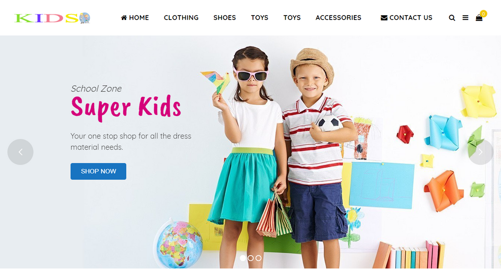 Kids Website
