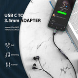 USB C to 3.5mm Headphone Adapter for Samsung Galaxy S20 / iPad Pro