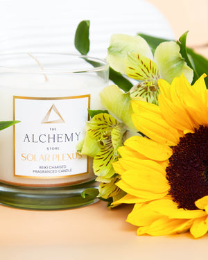 Load image into Gallery viewer, Solar Plexus Chakra Candle