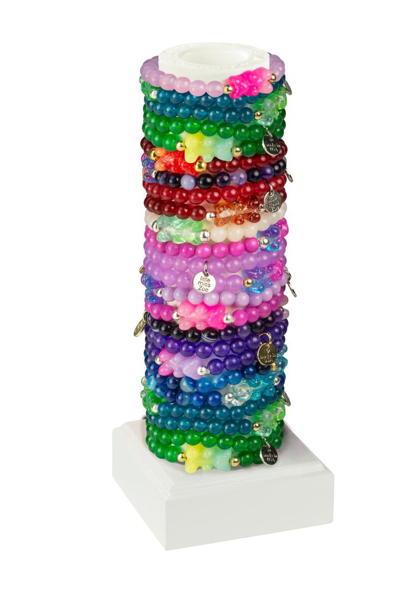 Little Miss Zoe New Gummy Bracelet-Assorted