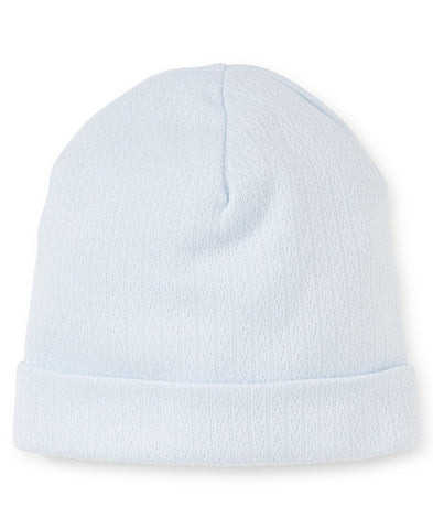 Kissy Kissy Light Blue Pointelle Hat