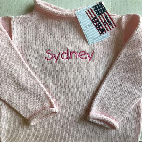 A Soft Idea, Jersery Rollneck Sweater, Pink