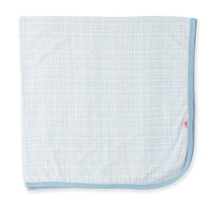 Magnetic Me Greenwich Plaid Modal Blanket