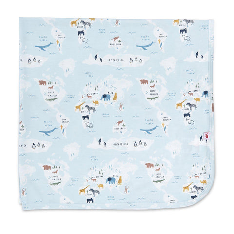 Magnetic Me Sea the World Swaddle Blanket