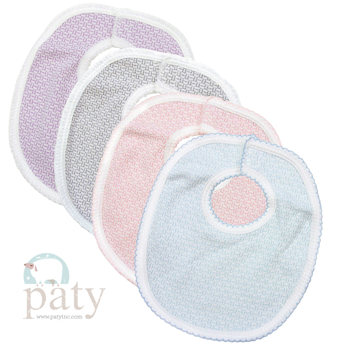 Paty Solid Bib with Side Opening