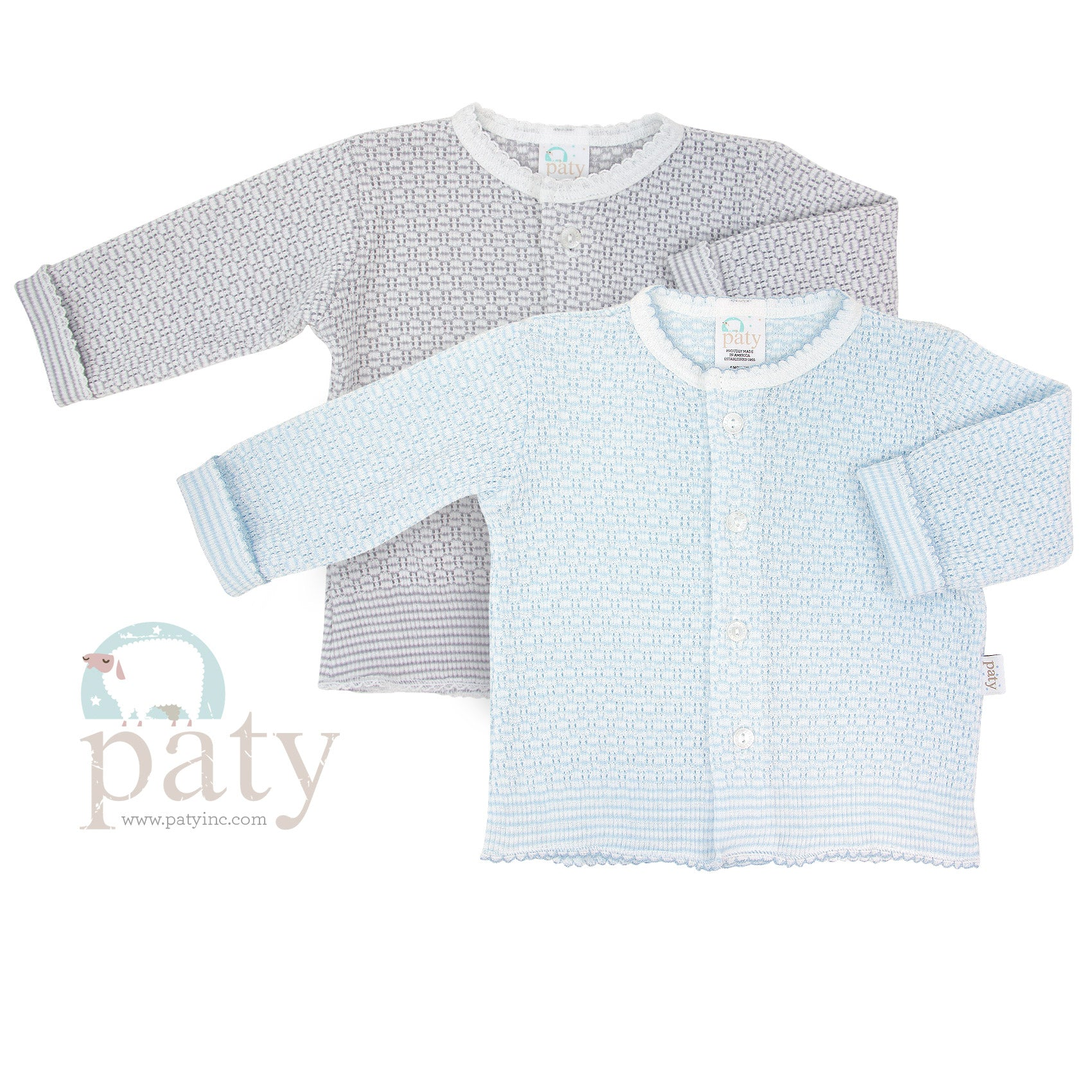 Paty Long Sleeve Button Up Cardigan Sweater