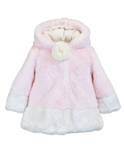 Widgeons Hood Contrast coat, Pink Cotton Candy