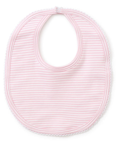 Kissy Kissy Stripes Bib
