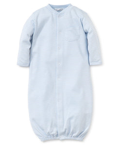 Kissy Kissy Blue Stripes Converter Gown