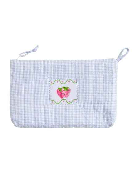 Little English Appliqué Cosmetic Bag