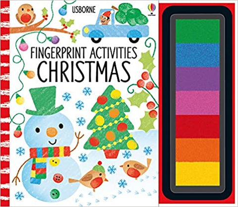 Usborne Fingerprint Activity Christmas