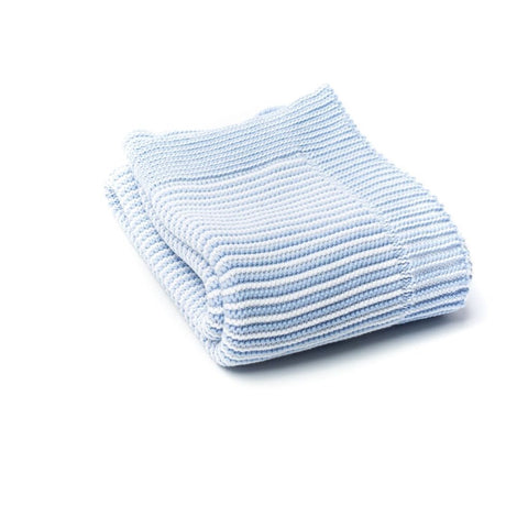 A Soft Idea Blue Stripe Blanket