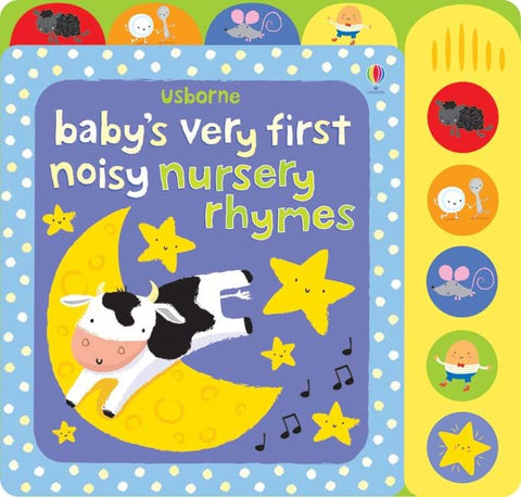 Usborne Baby's Very First Noisy Nursery Rhymes