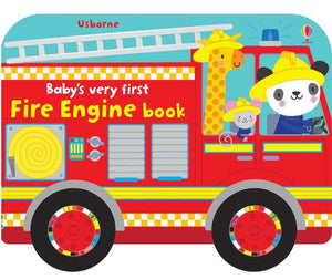 Usborne Baby's Very First Fire Truck Book