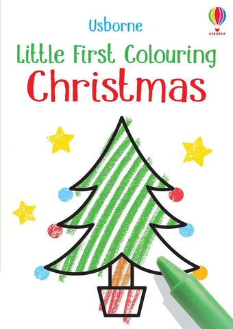 Usborne Little Coloring Christmas