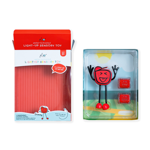 Glo Pal Red Sensory Toy