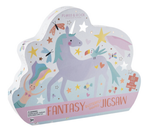 Floss and Rock Fantasy Jigsaw Puzzle- 80 piece