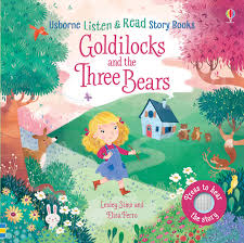 Usborne Listen and Read Story Books Goldilocks and the Three Bears
