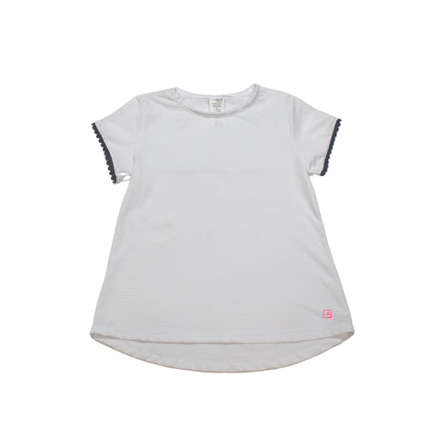 Set Athleisure Bridget Basic Tee- White/Navy