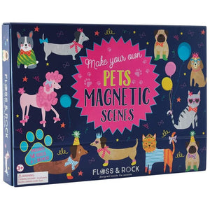 Floss and Rock Magnetic Scene- Pets