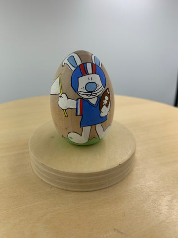Red/ Blue Football Boy Bunny