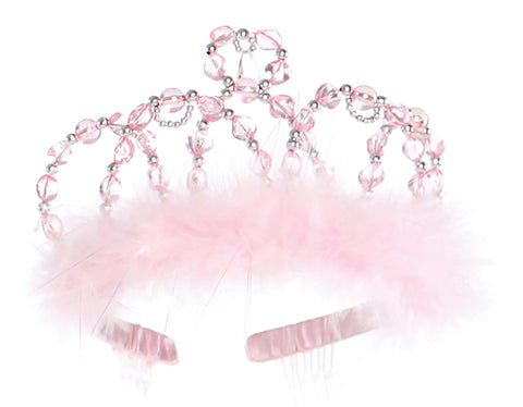 Creative Education Princess Tiara Pink Silver Beading