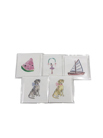 Over the Moon Enclosure Cards- Set of 6