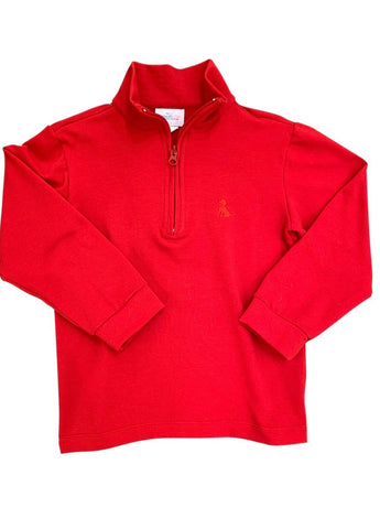 James and Lottie Bennett Zip Up Red