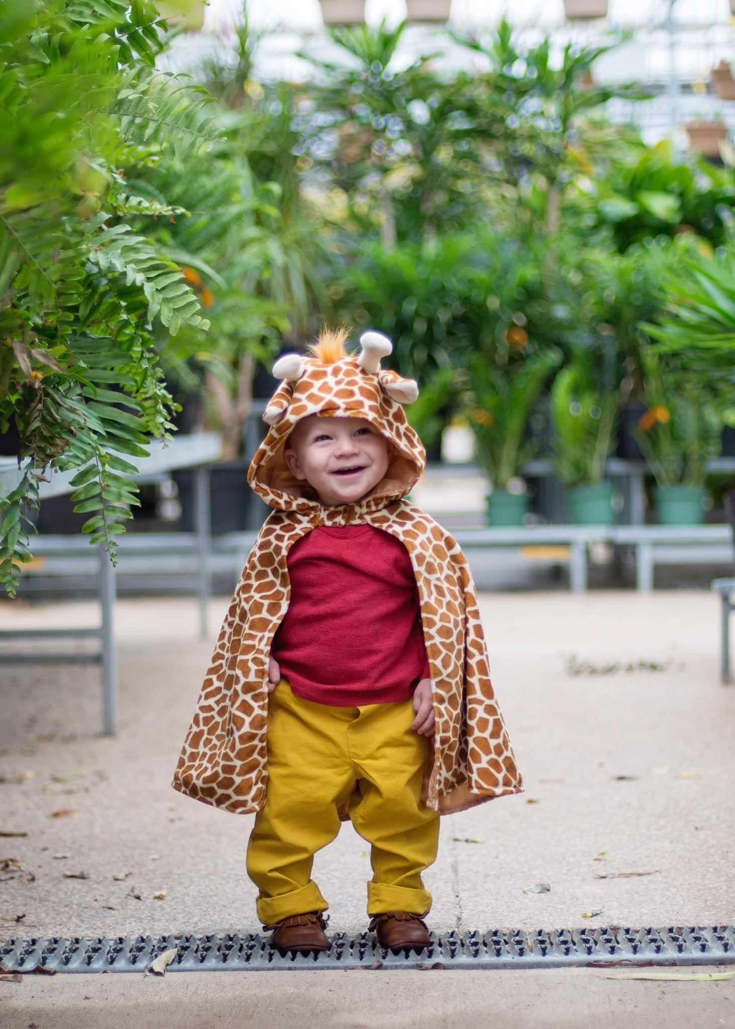 Creative Education Giraffe toddler cape