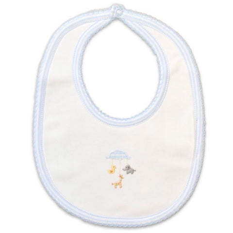 Baby Threads Boy's Animal Mobile Bib