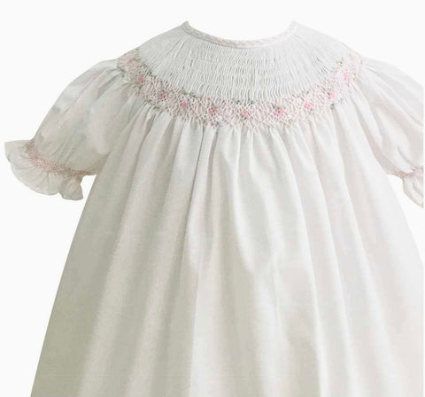 Feltman Brothers Bishop Feathers stitched dress, 18 months