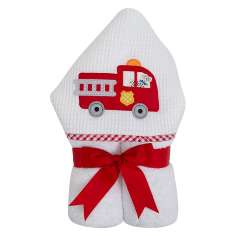 3 Martha's Everykid Towel, Firetruck